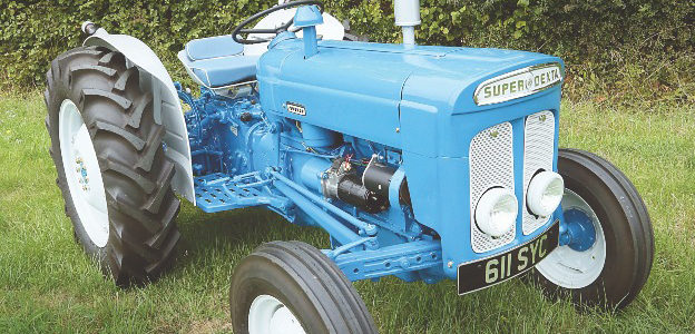 Win This Fordson Super Dexta Tractor