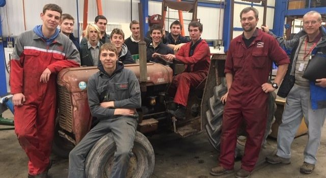Tractor Rebuild by Bicton College Students