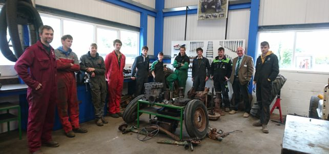 Tractor Rebuild by Bicton College Students – Part 2