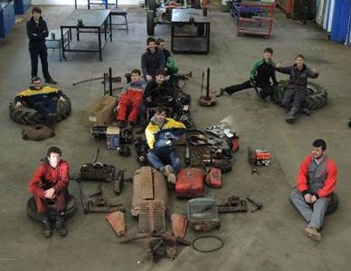 Tractor Rebuild by Bicton College Students – Part 3
