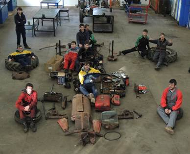 Tractor Rebuild by Bicton Students – Part 3